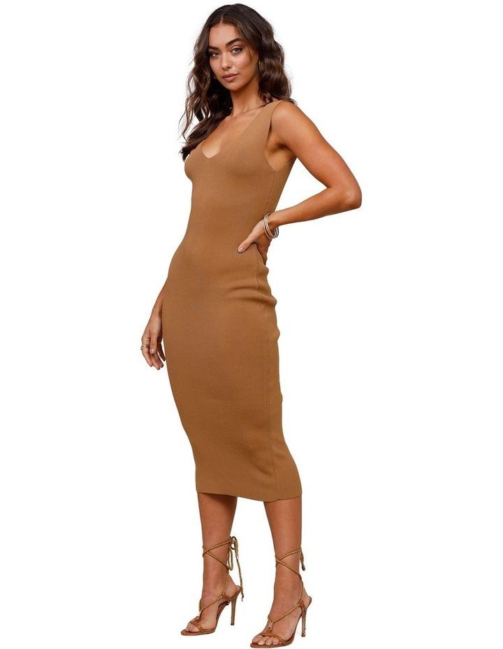 Rustic Knit Midi Dress image 3