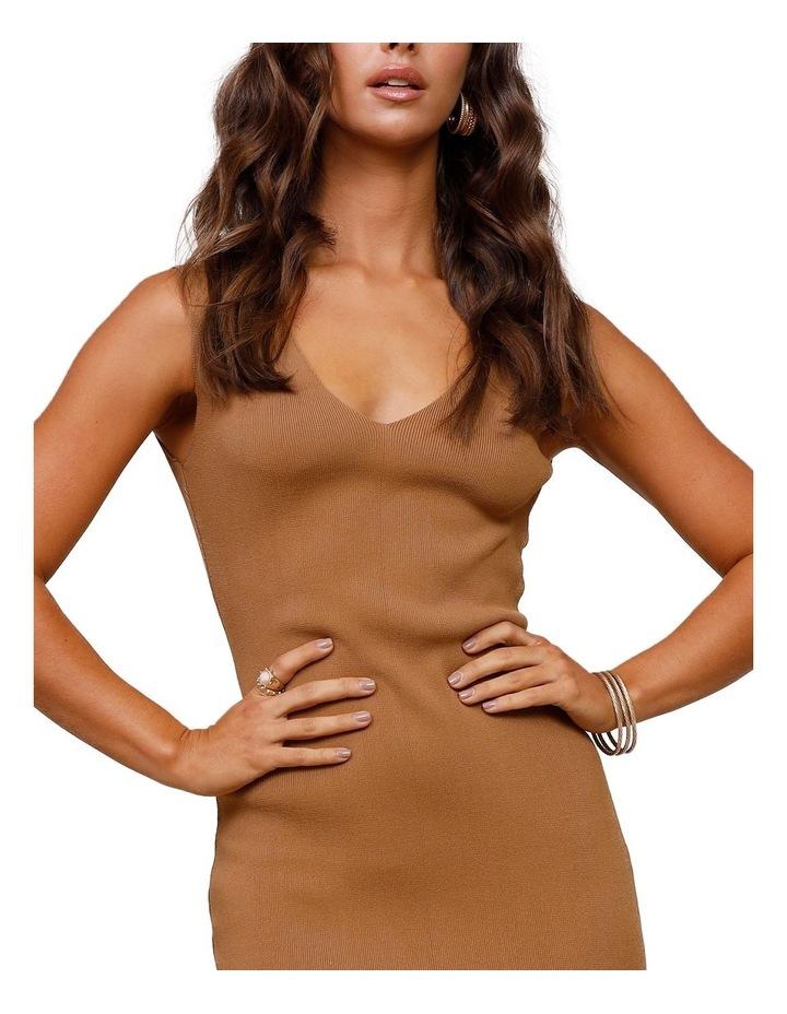 Rustic Knit Midi Dress image 4