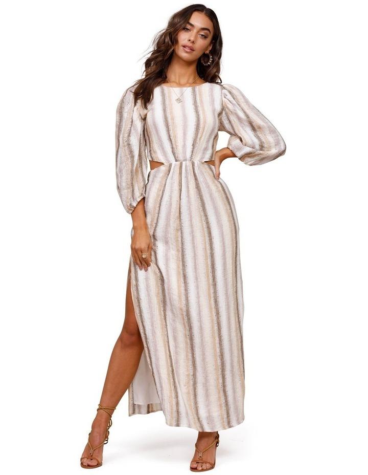 Seventies Soul Stripe Maxi Dress image 1