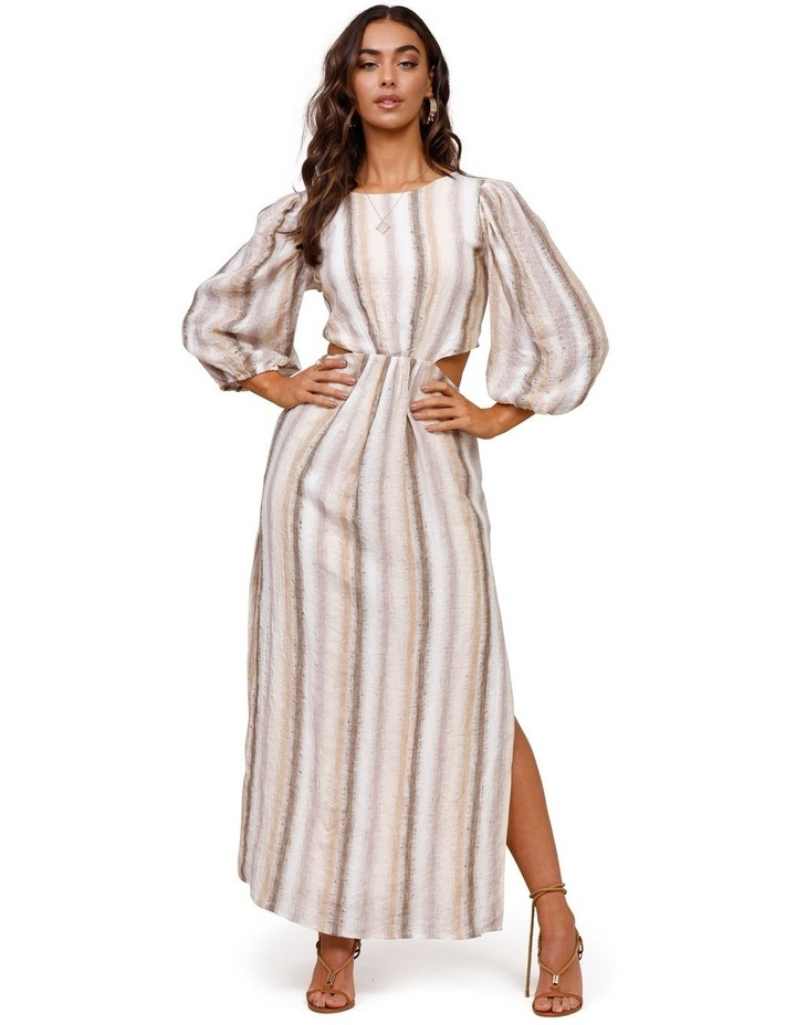 Seventies Soul Stripe Maxi Dress image 2