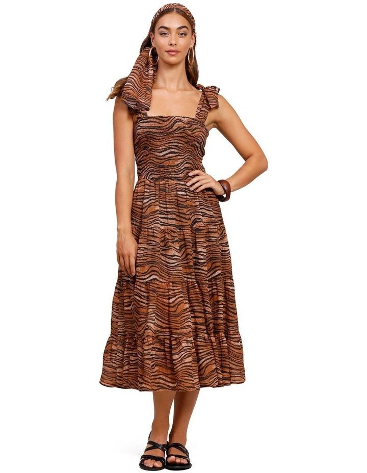 Tigress Strap Midi Dress image 1
