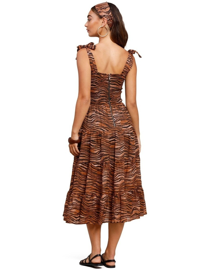Tigress Strap Midi Dress image 2