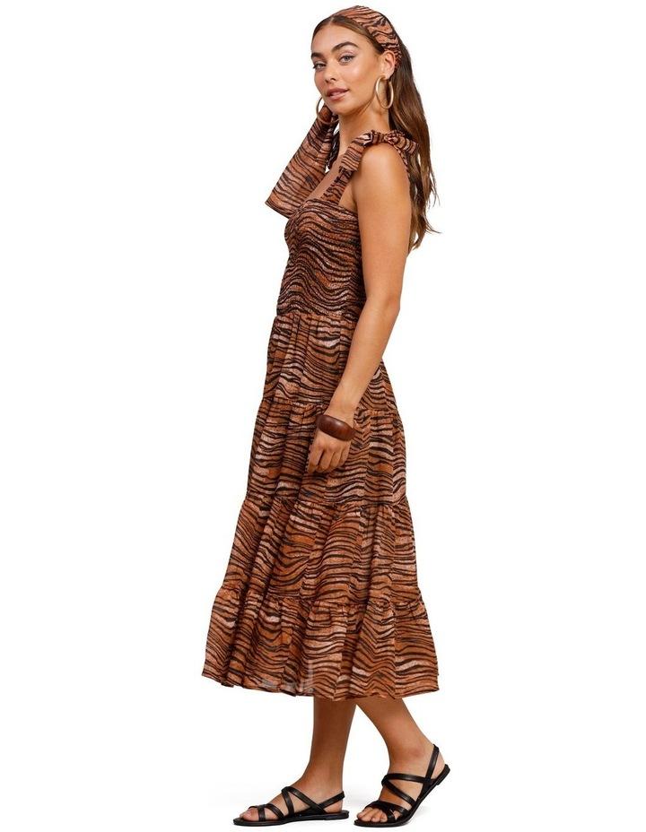 Tigress Strap Midi Dress image 3