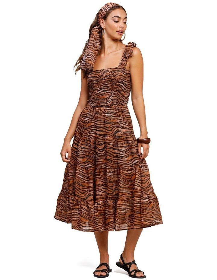 Tigress Strap Midi Dress image 4