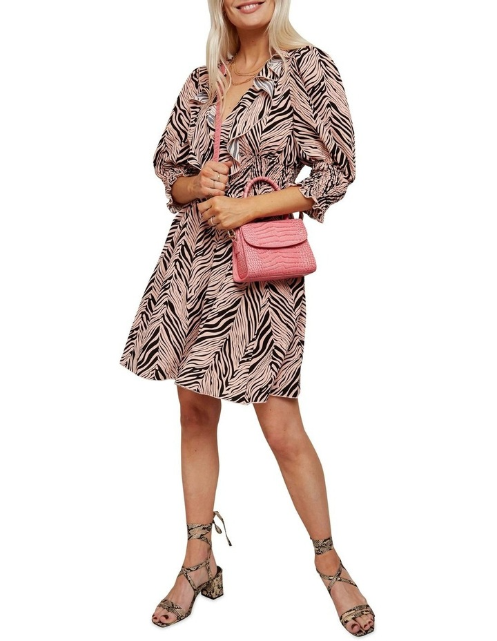 Ruched Waist Mini Dress image 1
