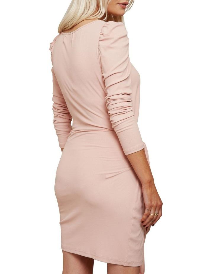 Wrap Mini Dress Pink image 1