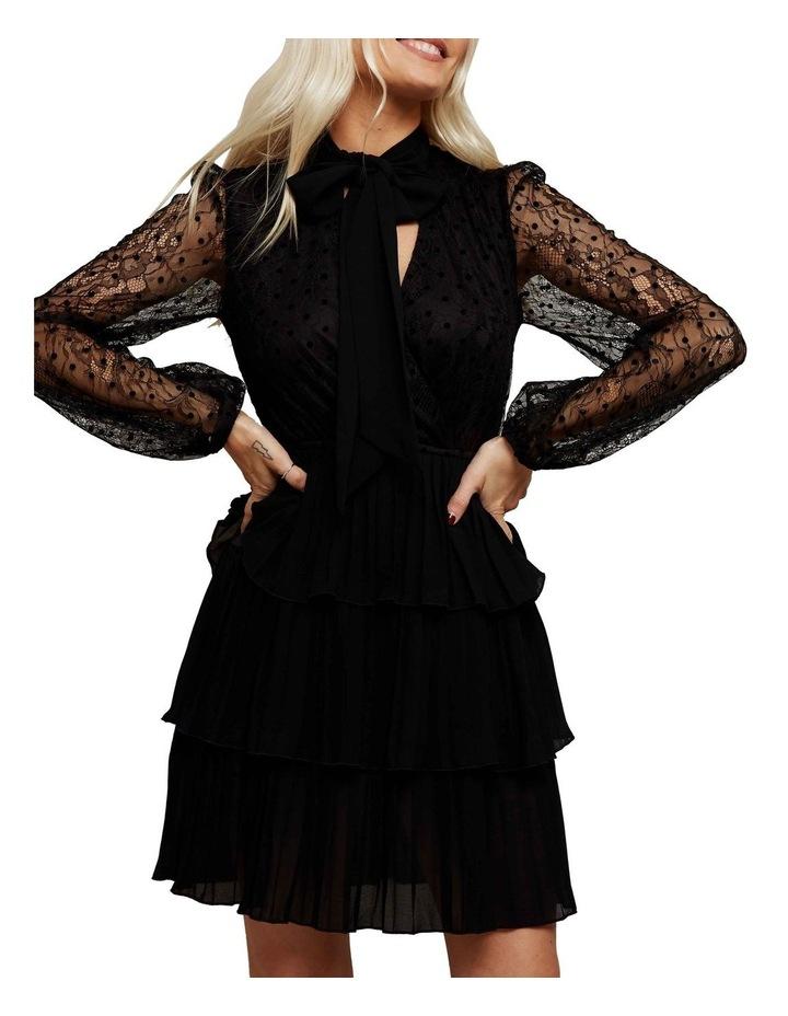 Lace Sleeved Mini Dress image 2