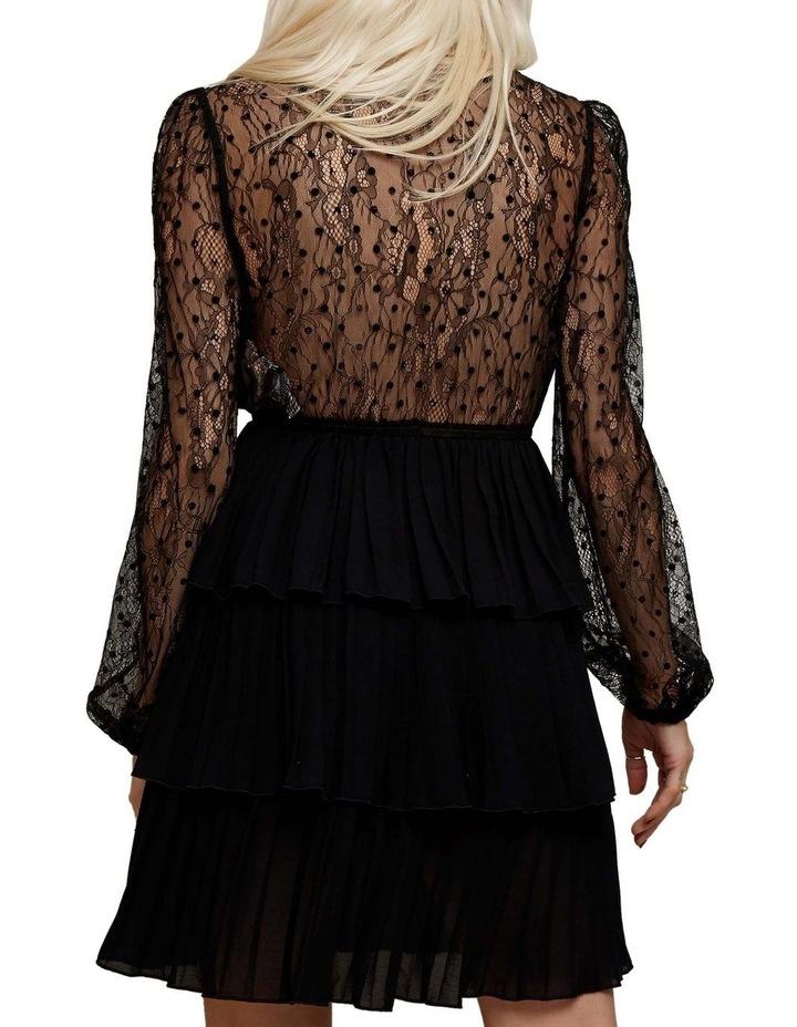 Lace Sleeved Mini Dress image 4