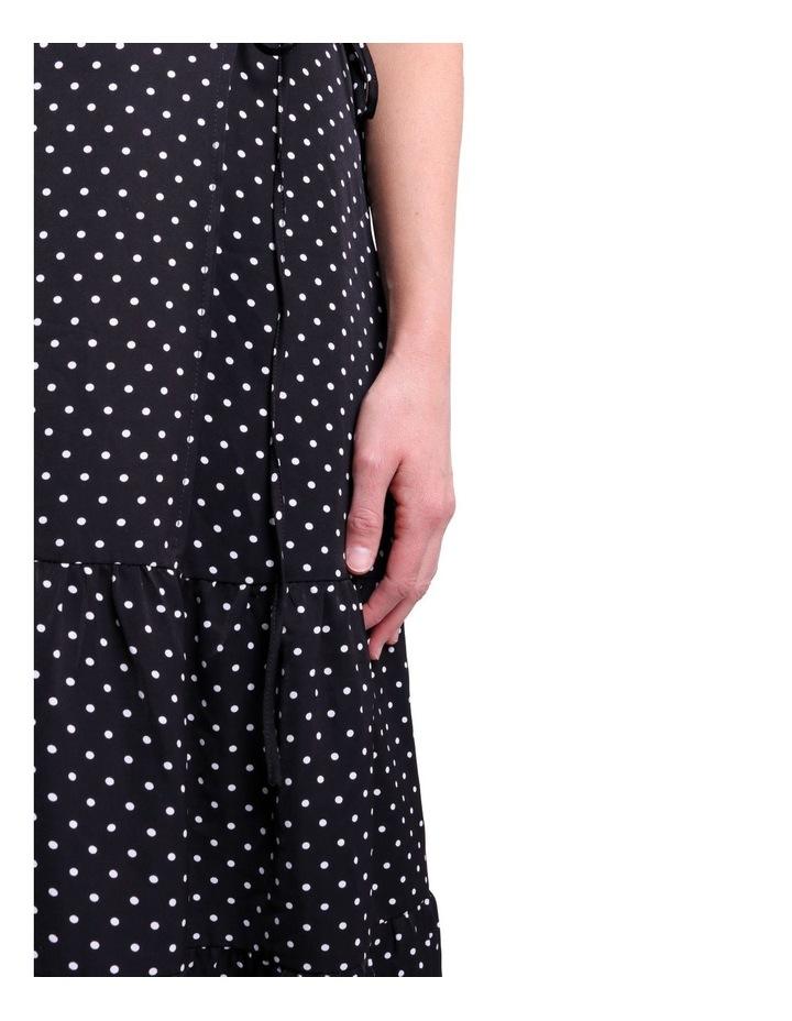 Black And White Polka Dot Dress image 5