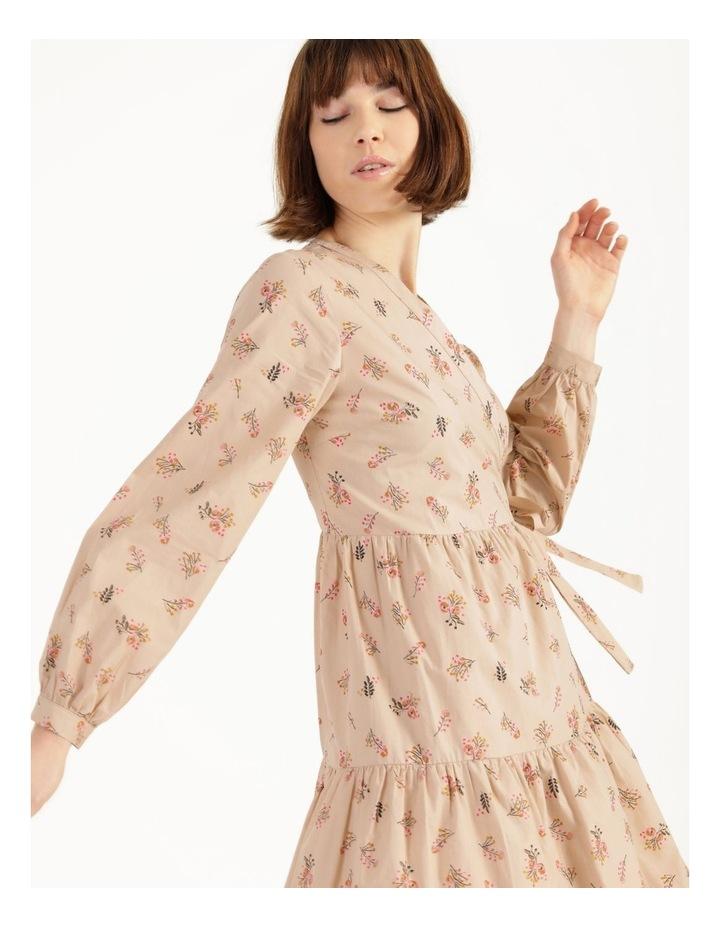 Cutie 3/4 Midi Wrap Dress image 2
