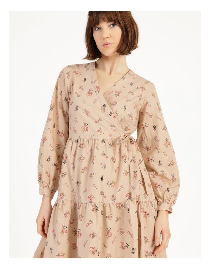 Cutie 3/4 Midi Wrap Dress image 5