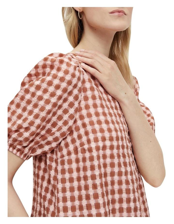 Yri 2/4 Check Dress image 4