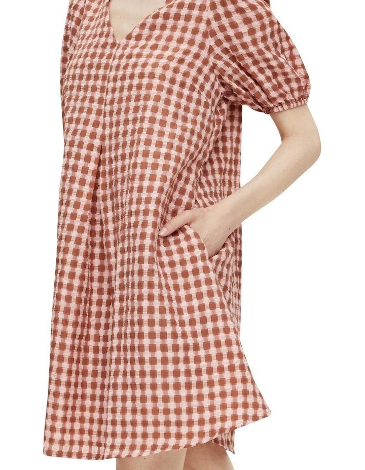 Yri 2/4 Check Dress image 5