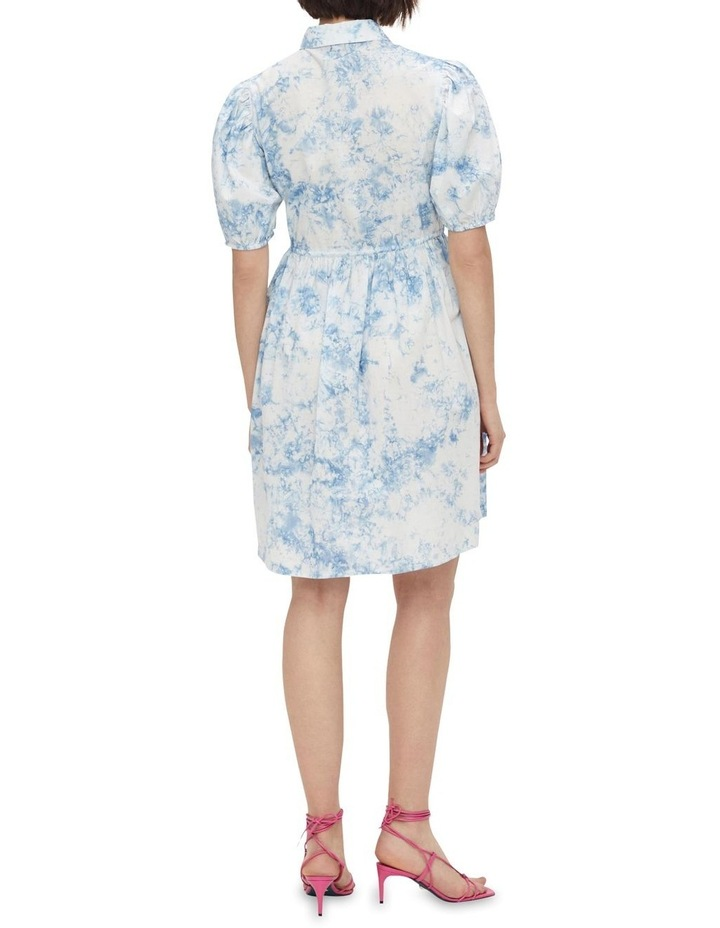 Ocean Cotton Mini Dress Whispy Blue image 2