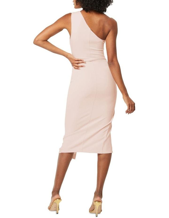 Through The Stars Midi One Shoulder Dress Blush image 2