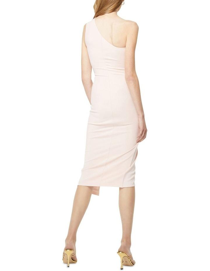Through The Stars Midi One Shoulder Dress Blush image 4