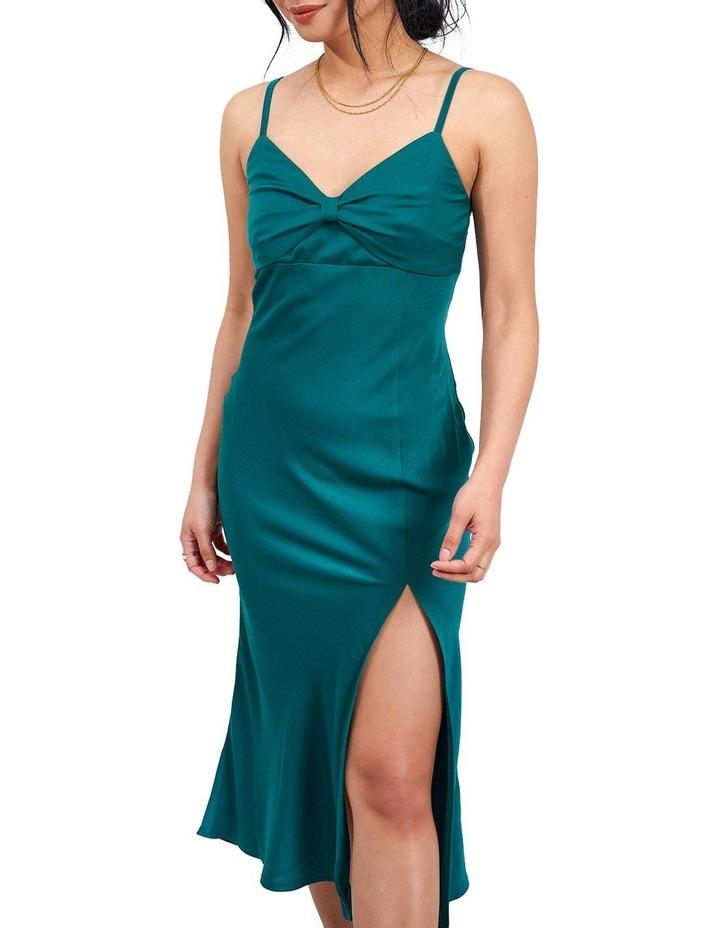 Green Cami Midi Dress image 1