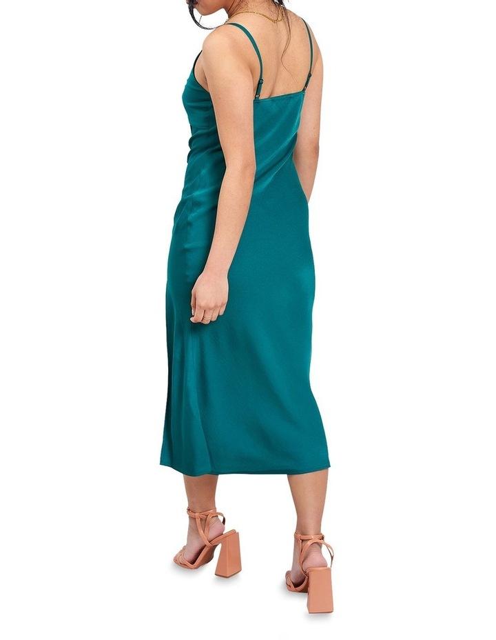 Green Cami Midi Dress image 2