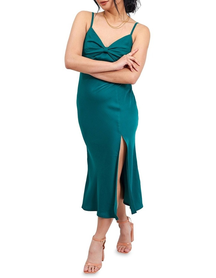 Green Cami Midi Dress image 4