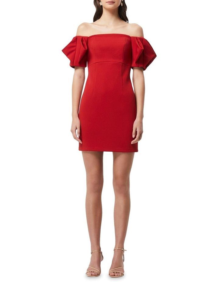 Emancipate Mini Dress Scarlet image 1