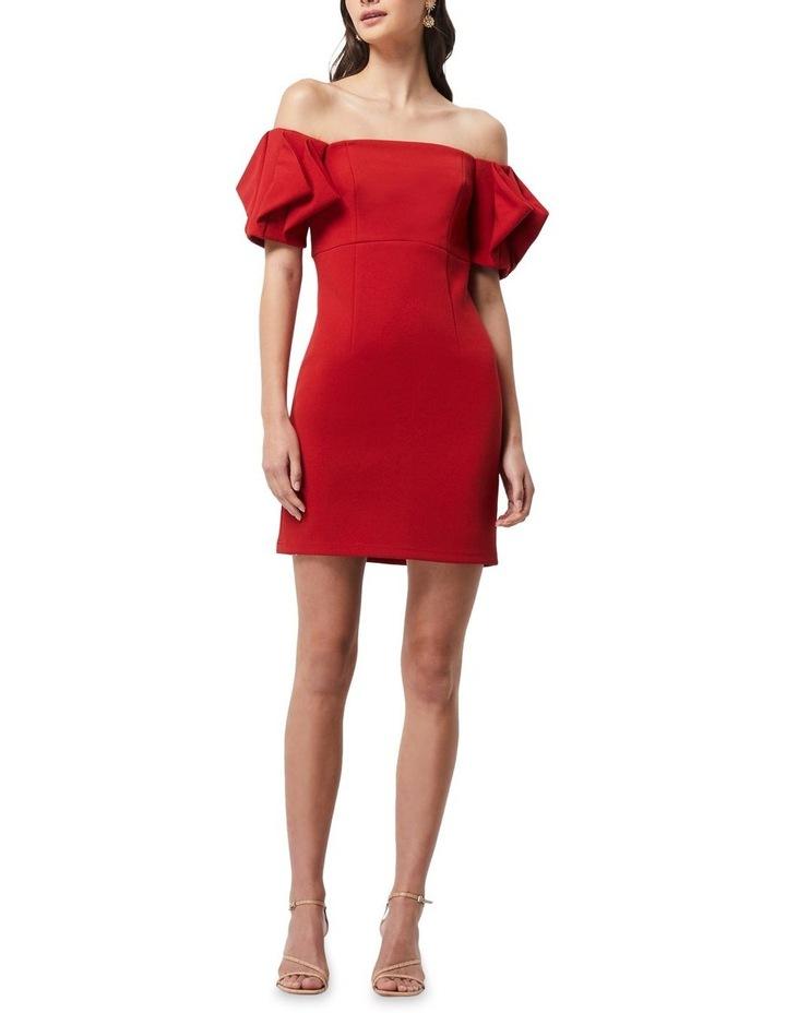 Emancipate Mini Dress Scarlet image 3