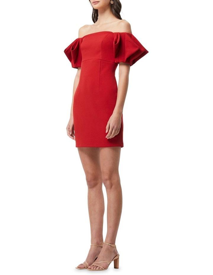 Emancipate Mini Dress Scarlet image 5