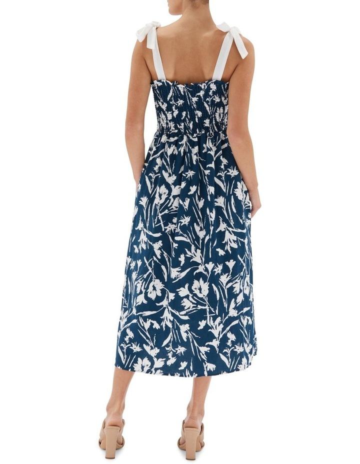 Alma Shirred Midi Dress image 2