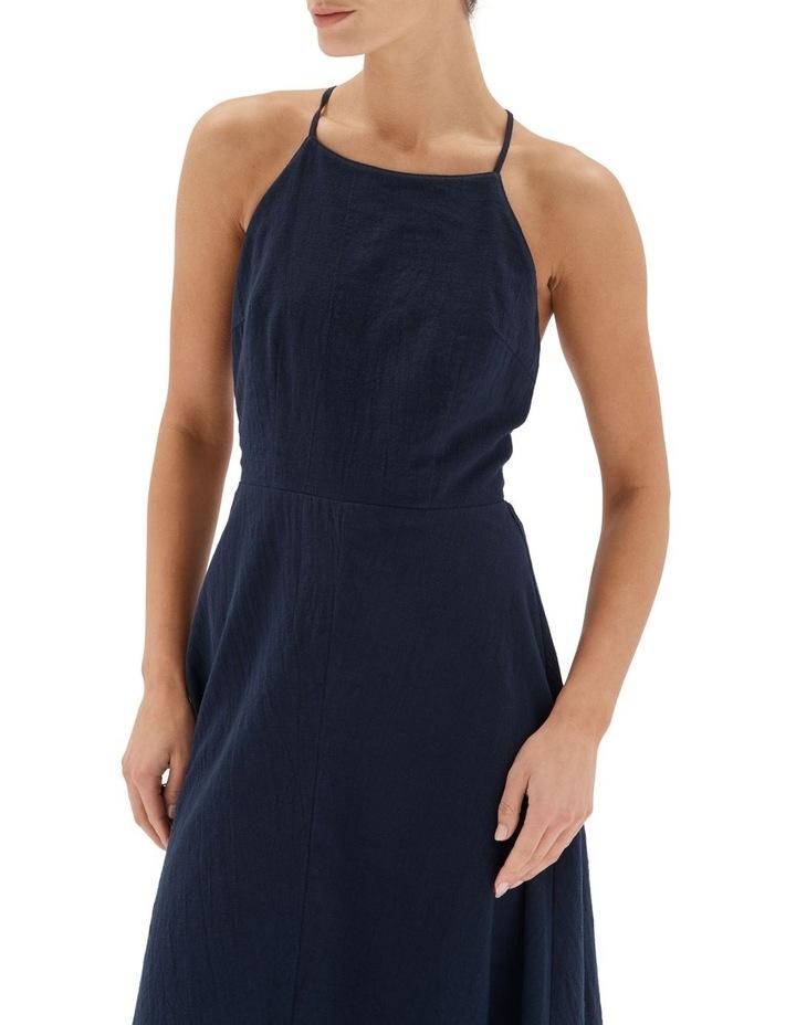 Ethos Midi Dress Navy image 4