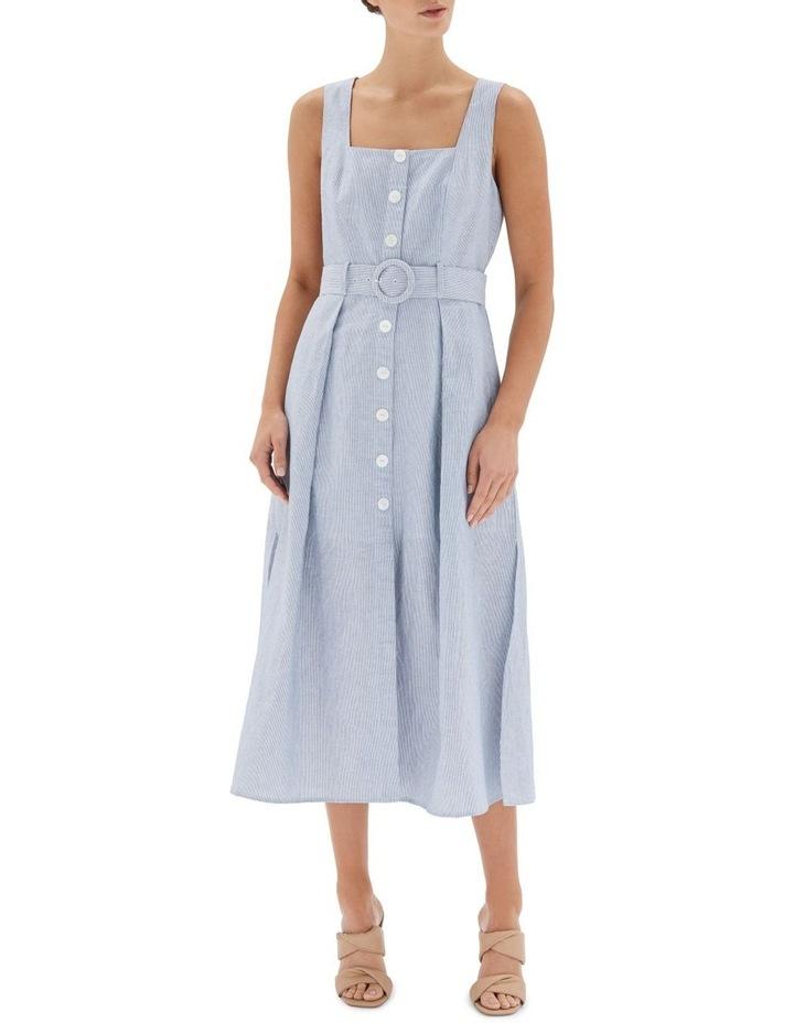 Sloane Belted Midi Dress image 1