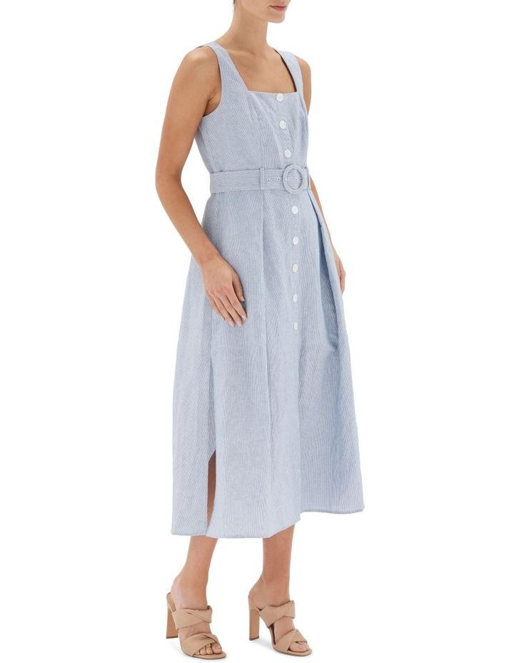 Sloane Belted Midi Dress image 3