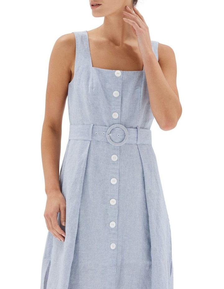 Sloane Belted Midi Dress image 4