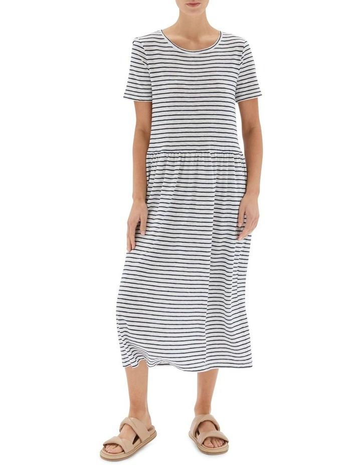 Stripe Boxy Tee Dress image 1