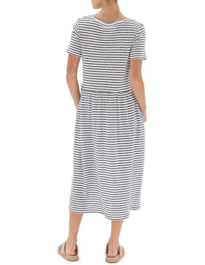 Stripe Boxy Tee Dress image 2