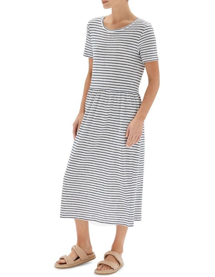 Stripe Boxy Tee Dress image 3