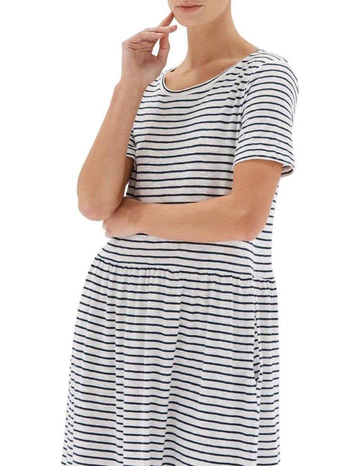 Stripe Boxy Tee Dress image 4
