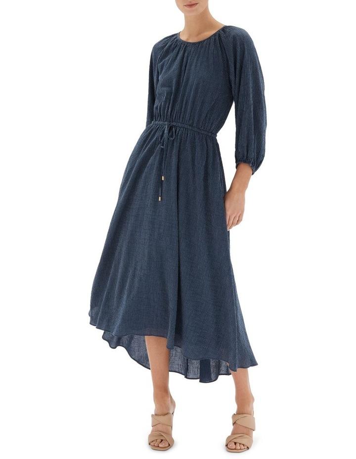 Estella Midi Dress Navy image 1