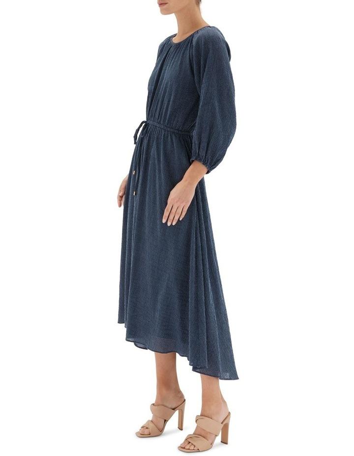 Estella Midi Dress Navy image 3