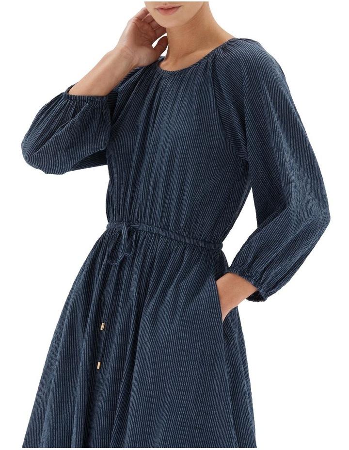 Estella Midi Dress Navy image 4