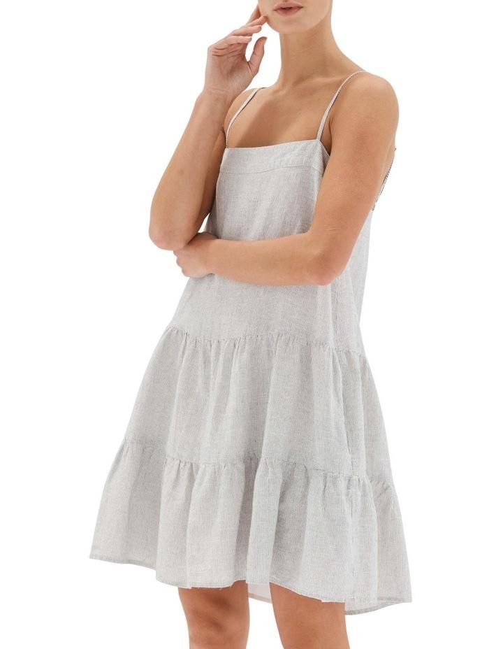 Elvina Tiered Mini Dress image 4