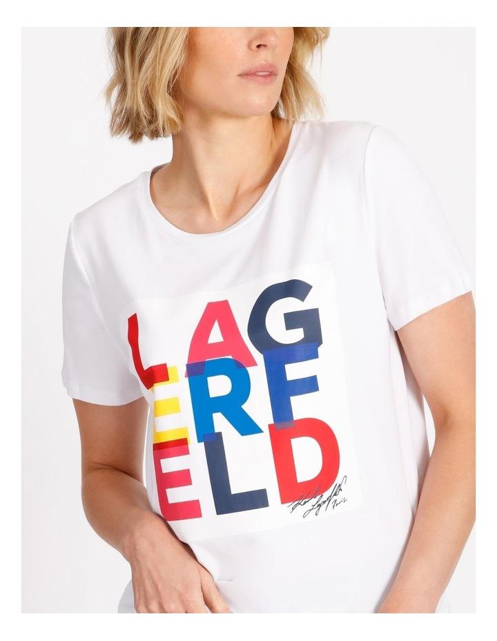 Multi Lagerfeld Tee image 4