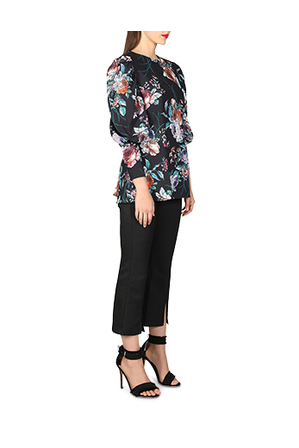 Cooper St - Botanical Long Sleeve Top 18CS03300