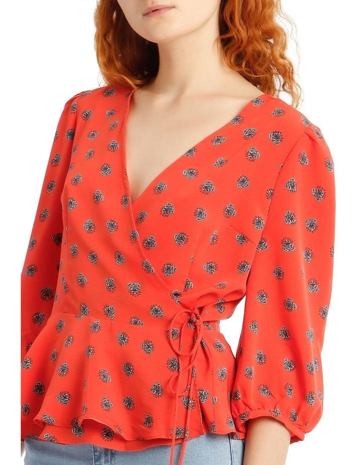 Sophia Tie Waist Top image 4