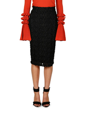 Cooper St - Floral Mirage Lace Midi Skirt