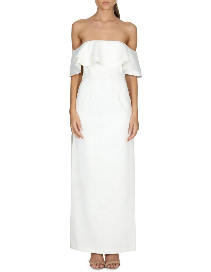 Naomi Ruffle Off The Shoulder Gown image 1