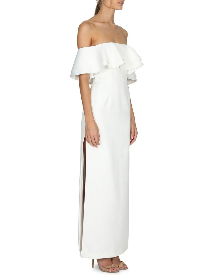 Naomi Ruffle Off The Shoulder Gown image 2