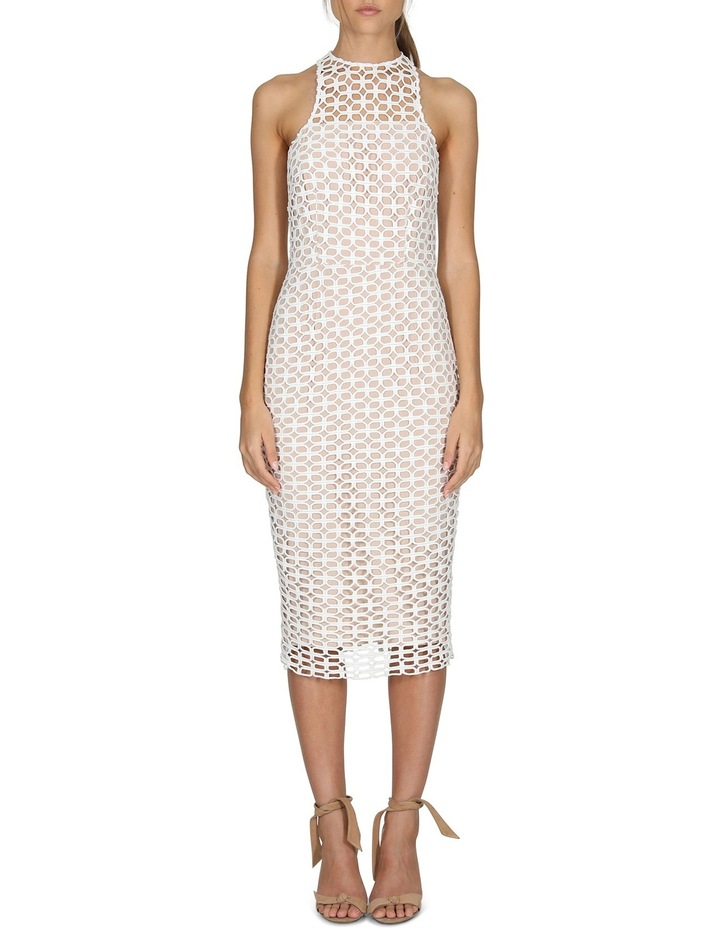 Karlie High Neck Lace Dress image 1