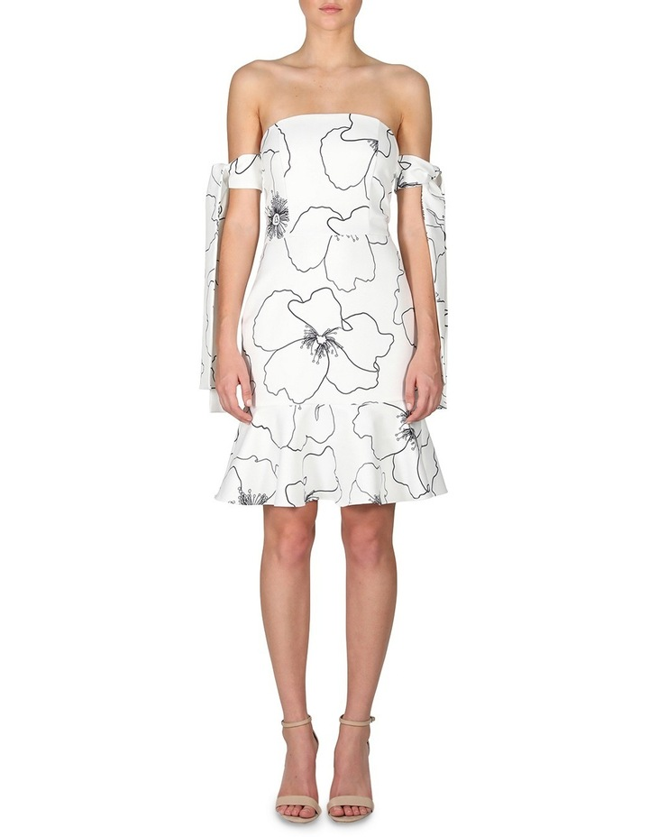 Silver Charm Off The Shoulder Dress image 1