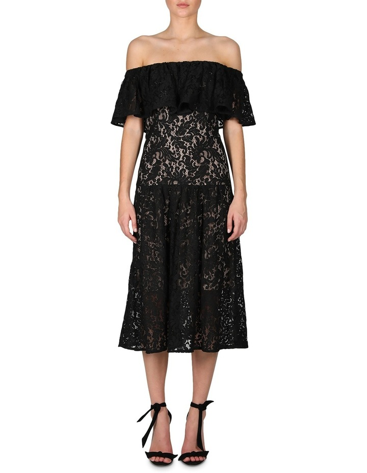 Sunday Silence Lace Off The Shoulder Dress image 1
