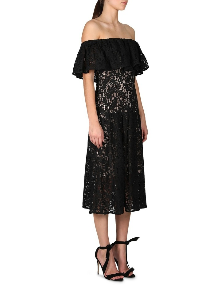 Sunday Silence Lace Off The Shoulder Dress image 2