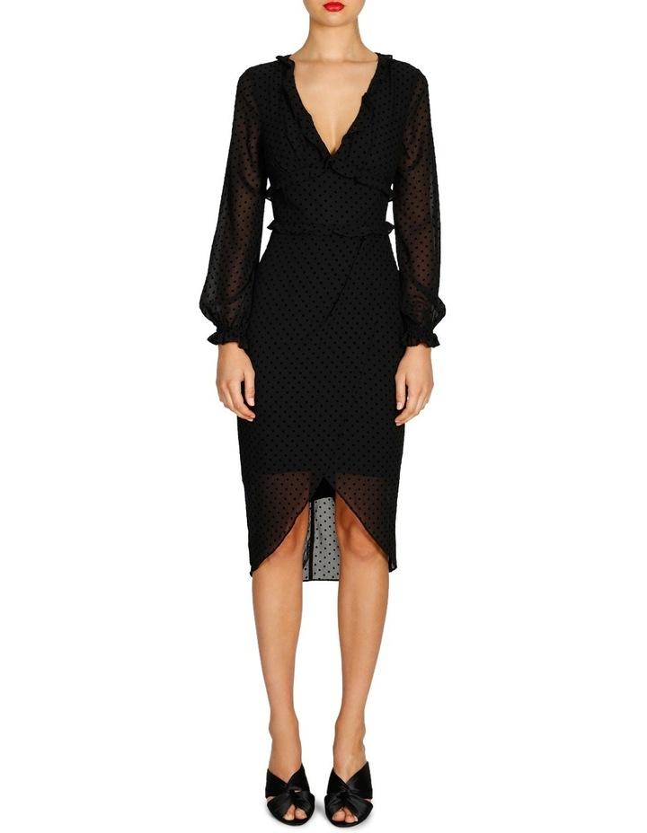 Harper Long Sleeve Drape Dress image 1